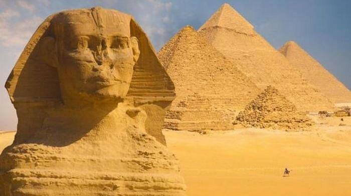 Сфинкс Giza, Cairo, Egypt