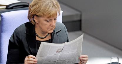 немецкая пресса Меркель