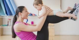 Рождение ребенка или фитнес после родов