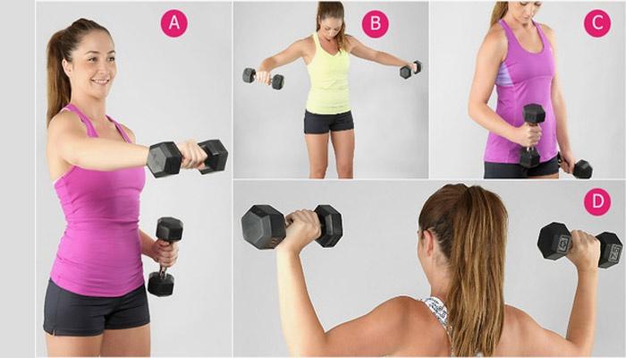 Как похудеть в области спины и рук