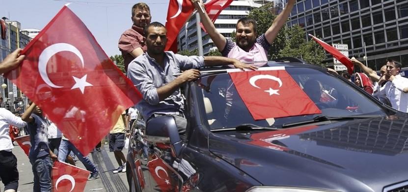 Турция переворот