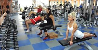 Фитнес зал и спортзал в центре