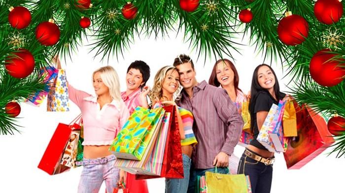 Новогодний шопинг