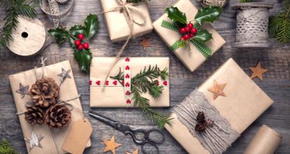 упаковки подарков