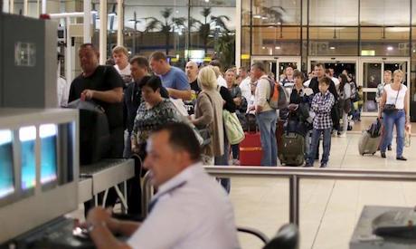 Безопасность аэропорта в Египте