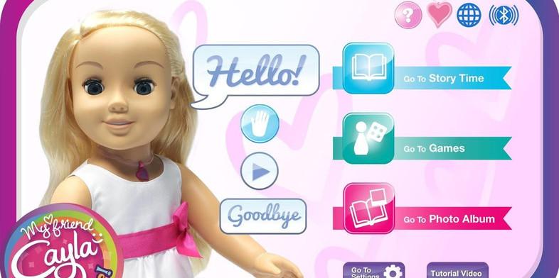 Германия запретила электронную куклу мой друг Кайла