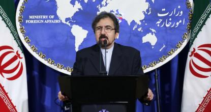 Официальный представитель МИД Ирана Бахрам Гасеми