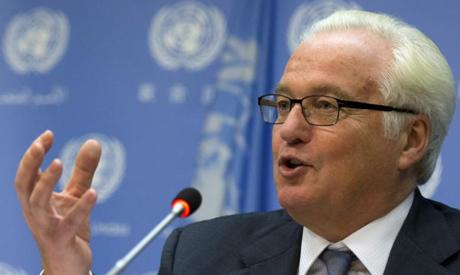 Посол России в ООН Виталий Чуркин
