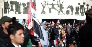 митинг в Багдаде молчаливый протест