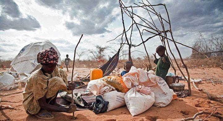 Голод засуха