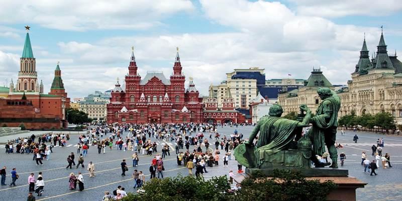 Прогулка Красная площадь и мавзолей