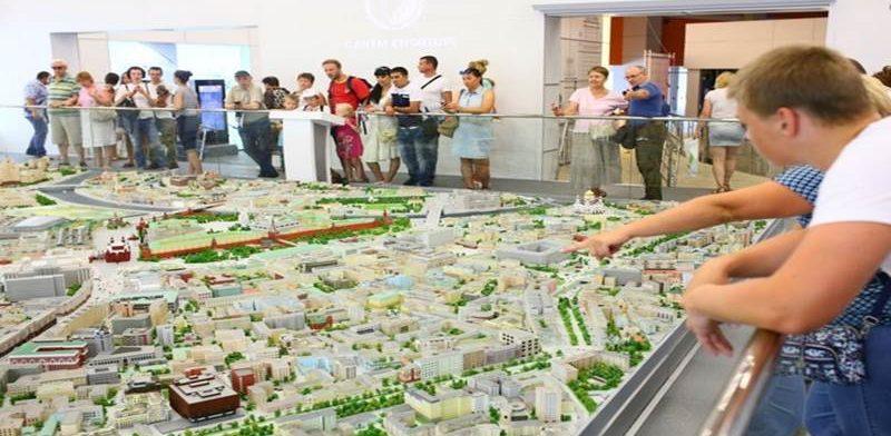 Выставка «Москва в миниатюре» на ВДНХ