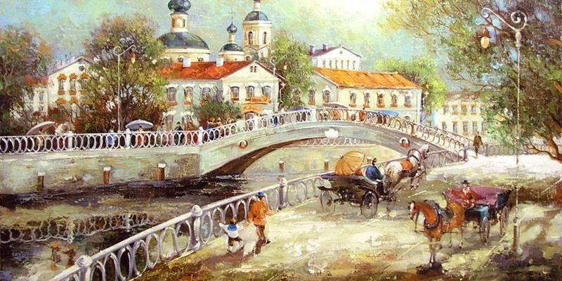 Мосты, дворцы и немцы
