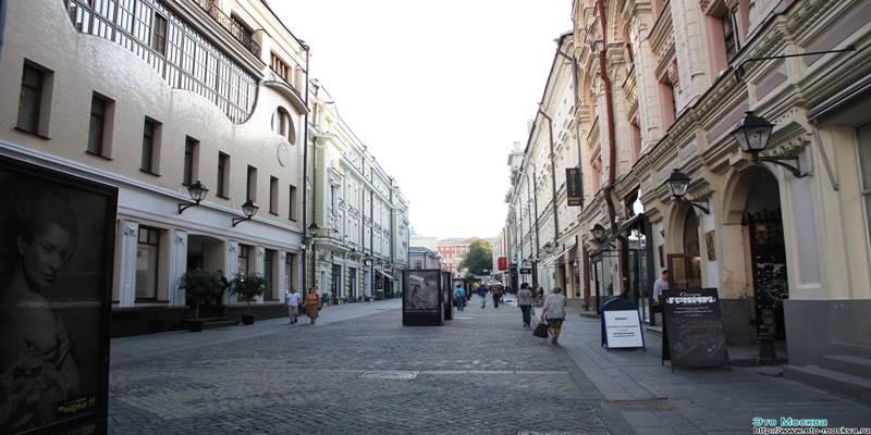 Переулками Тверской