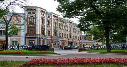 Прогулка по Петровскому и Рождественскому бульварам