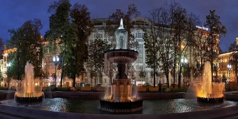 Вокруг Пушкинской площади