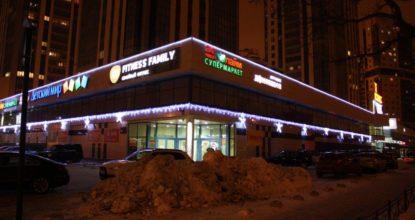 Дюралайт светодиодный для фасада реклама