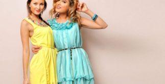Короткие вечерние платья для торжеств