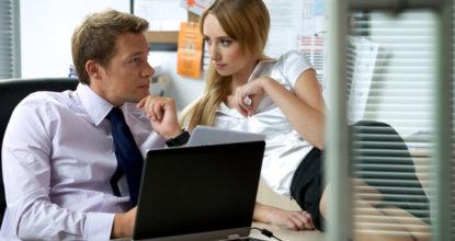 Любовь с боссом или отношения на работе