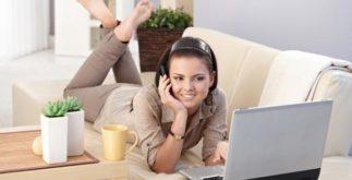 Женщина и Интернет.