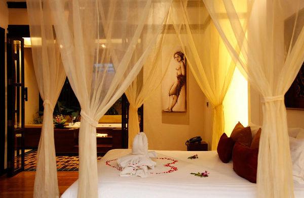 романтическая атмосфера в спальне